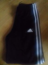 Adidas tracksuit bottoms brand new aged 13-14