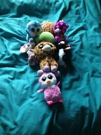 Collection of beanie toys