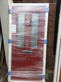 Brand new composite doors, pvc doors, french doors and windows
