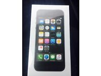 IPhone 5S 16GB Space Grey Brand New Sealed