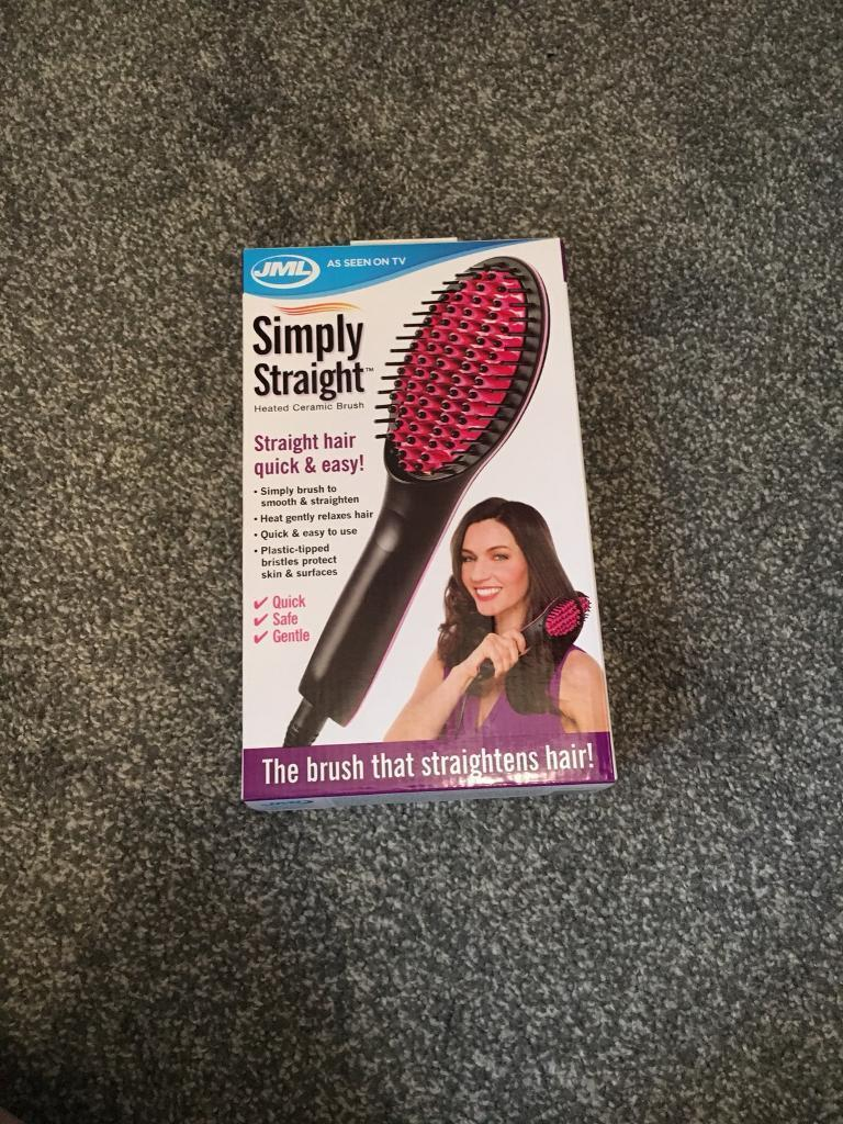 Brand new hairdryer/brush straightener