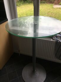 Barker and Stone glass table