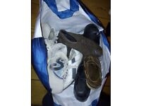 Bag of old shoes (small mens)
