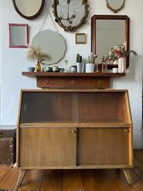 Mid century bookcase/sideboard