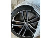 2x VW Golf gtd Nogaro alloys