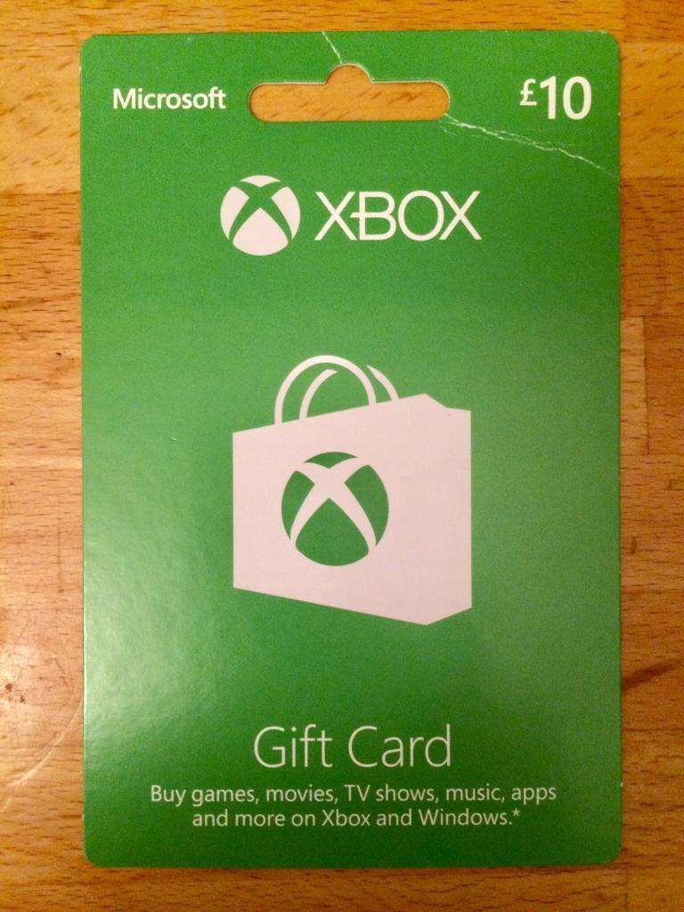 Unused Xbox £10 Giftcard! 🎬🎧🎮👾