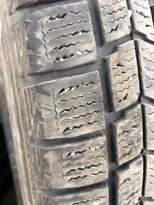 225/60/16 Dunlop hiver 7-8/32