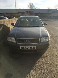 Audi A6 2.5 TDI FOR PARTS (sold as a whole unit)