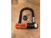 Kryptonite Evolution Mini-5 & FlexFrame U Bracket Lock Black