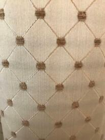 Luxury lined curtains 2 sets 1800x3m £80