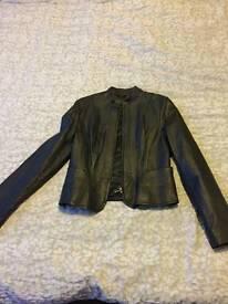 Ladies Next black leather jacket