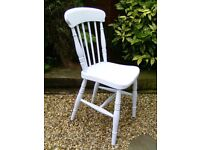 Small shabby chic bedroom chair