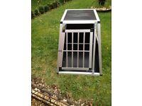 Aluminium dog /pet cage
