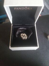 Pandora heart charms