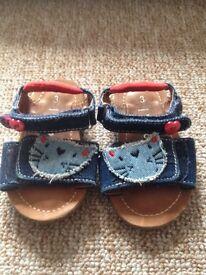 next girls sandals , infant size 3