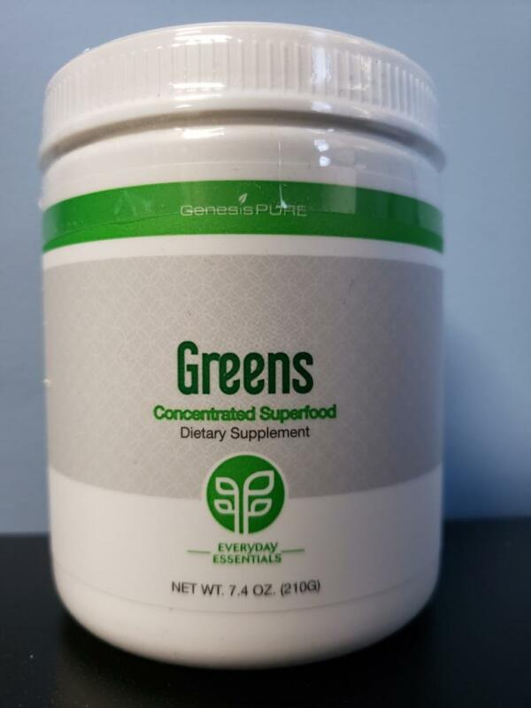 Genesis Pure Everyday Essentials Greens Concentrated Superfood 7.4 oz - New