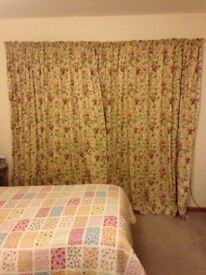 Laura Ashley Melrose curtains very large