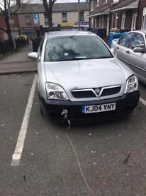 Vauxhall SIGNUM 2004 1.9 tdci silver spares or repairs estate.