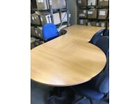 Large Meeting Conference Table Desk