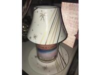 Yankee candle large shade & plate