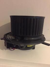 Audi a3 heater blower motor