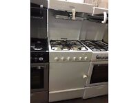 55CM WHITE LEISURE EYE LEVEL GAS COOKER