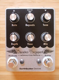 EarthQuaker Devices EQD Disaster Transport Delay Pedal