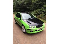 MG ZR ROVER 25 GTI MANUAL CHEAP CAR FOCUS ST GREEN/BLACK OZ ALLOYS BIGBORE £450