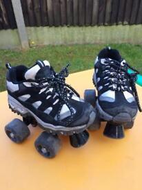Children's Roller skates - size 11.