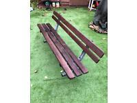 Garden Bench VGC : 3 Seater Garden Bench