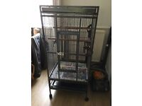 Parrot Cage Suitable for African Grey Amazon etc