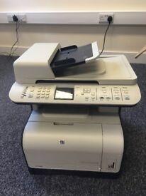 HP Color LaserJet Printer, Scanner, Fax in one (+ Toner inside)