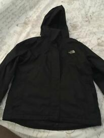 Women's size m North Face coat