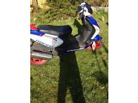 FOR SALE! CPI Formula R 50cc Moped/Scooter Good Condition Low Miles Cheap! £625