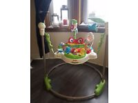 Fisherprice rainforest jumperoo good condition from smoke free home
