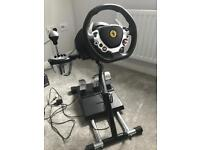 Thrustmastet TX wheel stand pro t3pa pedals and th8 shifter AS NEW