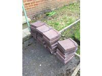 Bricks from old storage heater