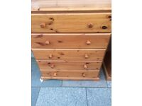 Solid pine chest free local delivery