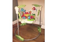 Jumperoo - fisher price rainforest- great condition