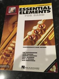 Trombone and trumpet essential elements book 1