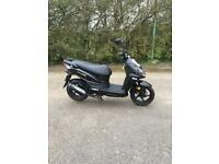 Moped sym jet4 immaculate. Collection and viewing bedford