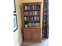 Small solid pine welsh dresser
