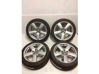 Audi A4 17'inch Alloy Wheels ( 2005 Plate )