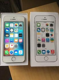 iPhone 5S 02 / Giffgaff 16GB Silver Excellent condition