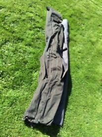 Wychwood Rod Bag holds 3 + 3 length 12ft 6in Used Condition