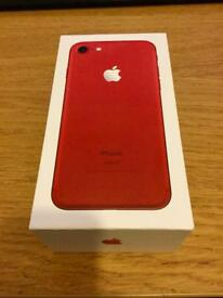 Apple iPhone 7 (PRODUCT) RED - 128GB - (Unlocked)