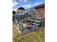 Greenhouse 12 ft by 8 ft - Free