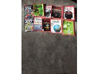 Time Magazines for sale- job lot 50 issues 2009-10