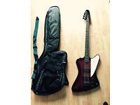 Epiphone Thunderbird Bass Guitar with Ritter case