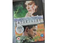 Atonement, DVD, Keira knightly, new
